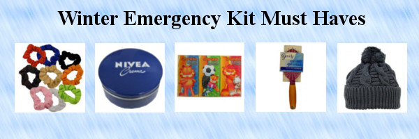Start putting your winter emergency kit together so you can be prepared to face the cold winter when it comes right at you – because ready or not, here it comes!