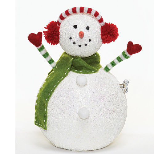 Ear muffs are so popular that today even snowmen wear them!